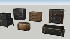 RHPaz V. Sketchup Model, 3d Warehouse, Suitcase, Briefcase