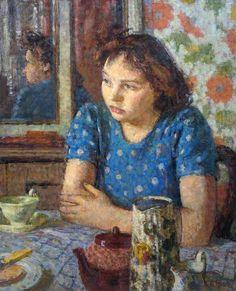 1948 The Tea Table ~ Edward Le Bas