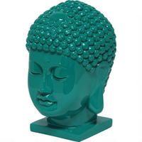 Thai Buddha Head - Emerald