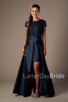 """Modest Prom Dresses 