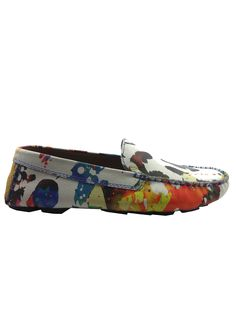 online store c2495 4ff62 The classic driving shoe gets updated with the iconic Robert Graham Gerard  print.