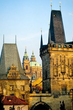 Spires, Prague, Czech Republic    photo via melike