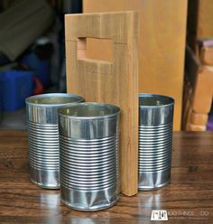 DIY Cutlery Caddy, patio utensil caddy