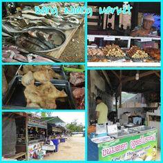 """""""Khao Lak"""" Thailand: """"Bang Niang Market"""" in Ban Bang Niang, Khao Lak, T..."""