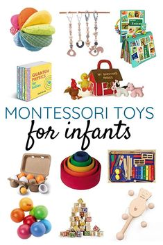 Montessori Toys for Infants Every Montessori Parent Should Have