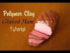 ▶ Polymer Clay Glazed Ham Tutorial - YouTube
