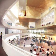 Kiruna City Hall / Henning Larsen Architects