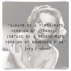 #judygarland #quoteoftheday love it