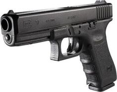 Glock 37 in .45 GAP, shorter than a standard .45 ACP round. Shout-out to the New York State Troopers who trust their lives to this firearm and this round... #glocklife