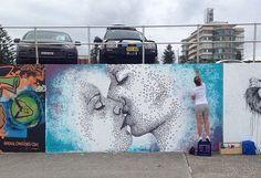Alana Williams on Bondi Beach, Sydney