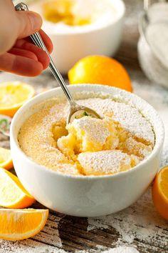 Low FODMAP Recipe and Gluten & lactose free Recipe - Citrus pudding Lemon Desserts, Lemon Recipes, Just Desserts, Sweet Recipes, Delicious Desserts, Dessert Recipes, Yummy Food, Fodmap Dessert Recipe, Easy Pudding Recipes