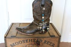Boot Jewelry to dress up your boots by NimbleArtisans on Etsy, $45.00