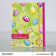 SonjaK - The Art of Stamping: Gruß vom Osterhasen - Easter Bunny Greetings