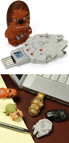 How cool! Star Wars USB Drives