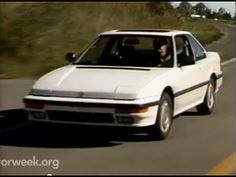 MotorWeek | Retro Review: '88 Honda Prelude 4WS - YouTube