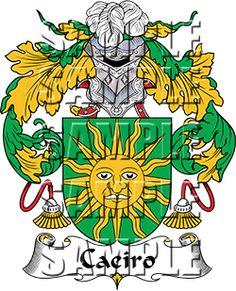 Caeiro Family Crest apparel, Caeiro Coat of Arms gifts