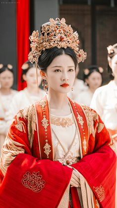 Korean Traditional Dress, Traditional Fashion, Traditional Dresses, Oriental Fashion, Asian Fashion, Chinese Clothing, Chinese Actress, Chinese Culture, Hanfu