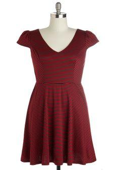 Dock Side of the Moon Dress in Plus Size | Mod Retro Vintage Dresses | ModCloth.com