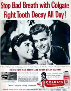0 Ali MacGraw - ad for Colgate toothpaste Old Advertisements, Advertising, Vintage Ads, Vintage Posters, Colgate Toothpaste, Ali Macgraw, Ad Art, Bad Breath, Teen Models