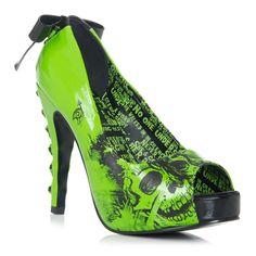 "iron fist's ""american nightmare"" in green.  love it!"