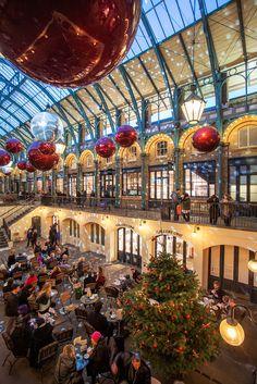 Navidad en Covent Garden, Londres