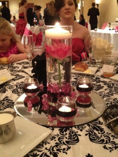 Centerpieces & Cylinders $170