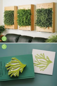 grass on the wall?