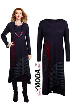 Dlhé extravagantné šaty Tunic Tops, Women, Fashion, Moda, Fashion Styles, Fashion Illustrations, Woman