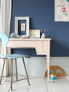 Was für ein schönes Blau! Farrow&Ball Stiffkey Blue