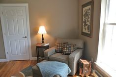 occupied home office staging
