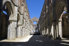 THE ABBEY OF ST. GALGANO AND THE HERMITAGE OF MONTESIEPI WITH THE SWORD IN THE STONE