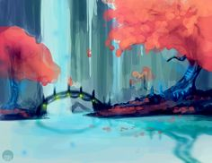 + Speedpaint: Places We Never Went Together by moxiv on deviantART
