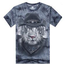 3421421216f Pánské tričko s celopotiskem tygr – trička s potiskem + POŠTOVNÉ ZDARMA Na  tento produkt se