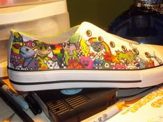 Sharpie Shoes by ~jazz-sex-and-soup on deviantART