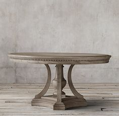 James Round Dining Table:Reimagining Architectural Elements From The Early  Century, Our Dining Table Features Intricate Dentilu2026