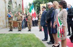 """Steinmeier a Civitella: """"Da tedesco mi vergogno"""""""