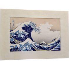 Katsushika Hokusai (1760-1849) The Great Wave From the Series Thirty-six Views of Mount Fuji Japanese Woodcut Unsodo Woodblock Print Japan