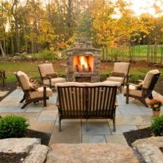 love this inspiration for the deck and backyard