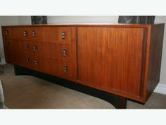 Teak Bedroom Set - stunning and for sale right now on UsedOttawa.com - wow.