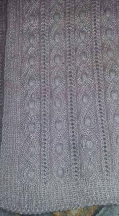 Spool Knitting, Lace Knitting Patterns, Knitting Stiches, Easy Knitting, Knitting Designs, Knitted Afghans, Tunisian Crochet, Knitted Hats, Knit Crochet