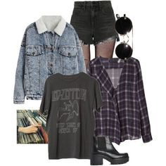 90s grunge by grey-skiess on Polyvore featuring Zara, Alexander Wang, Music Legs and Vagabond #grungeoutfits