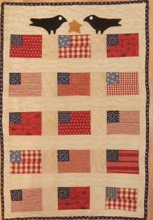 Log Cabin Quilter: A Cheri Payne Design Lap Quilts, Small Quilts, Mini Quilts, Quilt Blocks, Primitive Quilts, Antique Quilts, Primitive Crafts, Patriotic Quilts, Patriotic Crafts