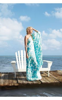Winnfield Dress aka summer and ease in the form of a dress. Adore this! perfect to wear from the beach to a party!