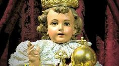 niño jesus de PragaWhether it is a cure for cancer or a state problem, my blessing come s from this Jeus shared with Saint Theresa to avoid the church's preoccupation with death andmrtyrdom:aime for sainthood not martyrdom. Catholic Art, Catholic Saints, Roman Catholic, Religious Photos, Religious Art, Infant Of Prague, Bible Qoutes, Quotes, Jesus Christ Images