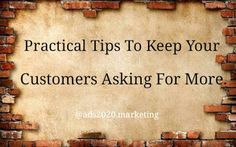 How To Keep Your Customers Asking For More.  Air Transportation Apparel & Accessories Auto #Business #Tips