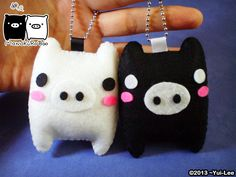 Felt craft: Pusheen the cat chibi all color Dimension: 7.6cmx 9cm B-Day: September 4, 2013 (dia que se finalizo) La idea fue sacado en patron de Totoro!! *0*/ Con tiempo y dedicacion, dure 3dias se...