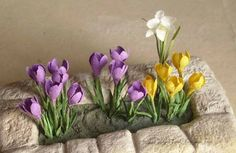 Link to lots of flower tutorial