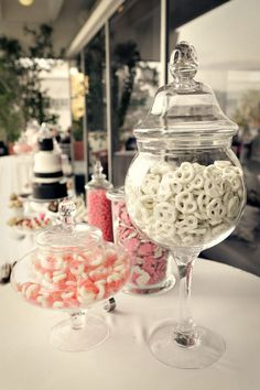 """""""Of course there's going to be candy... Lots and lots of candy"""" -Even the 10 yr. old me knew what was important in a wedding :)"""