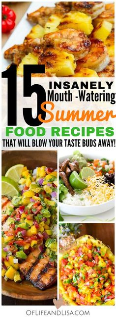 Check out this post to see a roundup of 15 easy summer food recipes to try at home.