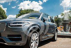 New cars fest.Ukraine, Kiev 2 July 2016 Exhibition of Economic Achievements